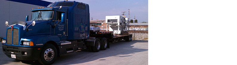 Trucking | Tim Lunceford Machinery Moving | Fontana, CA | (626) 536-3613